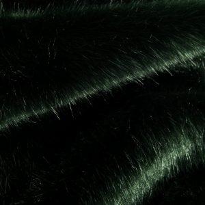 Luxus Webpelz Luxuriöser Kunstpelzstoff, superweich, dunkelgrün – 3025 Bottle Green
