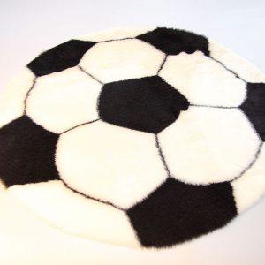 Voetbalkleedje Wit Zwart