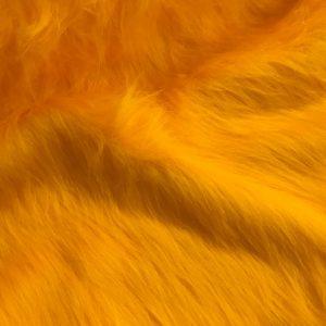 Preiswert Webpelz Preiswert gelb langhaariges Kunstfell – AC356-M-Gold