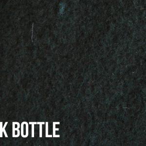 Webpelz Stoff als Meterware Meterware Einfarbiges Lammfell Fleece, Anti-Pilling, dunkel flaschengrün – Dark Bottle