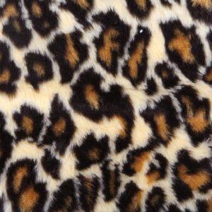 Webpelz Stoff als Meterware Leopard Kunstpelzstoff am laufenden Meter für Verkleidung, Kostüme, Cosplay – R2/60/3 dessin Leopard 1/1