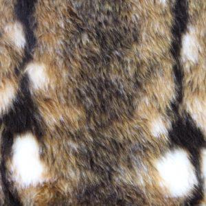 Webpelz Stoff als Meterware Kaninchen Kunstpelzstoff am laufenden Meter für Verkleidung, Kostüme, Cosplay – R2/60 YF744/1