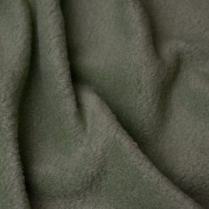 Webpelz Stoff als Meterware Meterware Einfarbiges Lammfell Fleece, Anti-Pilling, avocadogrün – Avocado