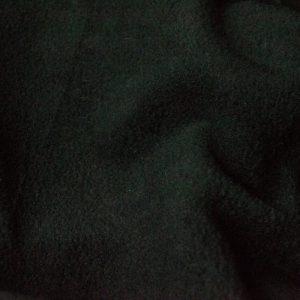 Webpelz Stoff als Meterware Meterware Einfarbiges Lammfell Fleece, Anti-Pilling, schwarz – Black