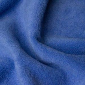 Webpelz Stoff als Meterware Meterware Einfarbiges Lammfell Fleece, Anti-Pilling, nachtblau – Dark Sky