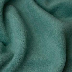 Webpelz Stoff als Meterware Meterware Einfarbiges Lammfell Fleece, Anti-Pilling, salbeigrün – Sage