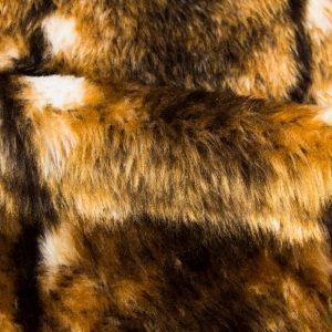 Preiswert Webpelz Kaninchen Kunstpelzstoff am laufenden Meter für Verkleidung, Kostüme, Cosplay – R2/60 YF744/1
