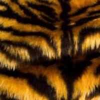 Preiswert Webpelz Tiger Kunstpelzstoff am laufenden Meter für Verkleidung, Kostüme, Cosplay – R2/60/3 FG791/1 Tiger