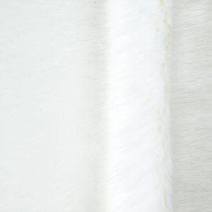 Weißes Pelzimitat
