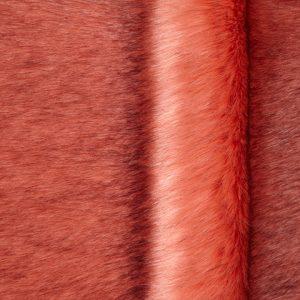 Luxus Webpelz Luxuriöses sibirisches langhaariges Pelzimitat in Altrosa Farbe – 1539 Dusky Pink