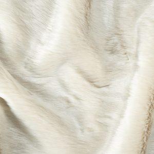 Luxus Webpelz Kunstfellstoff Imitation Kaninchen weißgrau – 1557 Sand White
