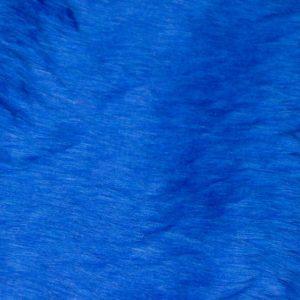 Webpelz Stoff als Meterware Preiswert kurzhaarige Pelzimitat in der Farbe Kobaltblau – W1/60-Cobalt