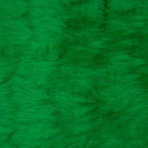 Webpelz Stoff als Meterware Preiswert kurzhaarige Pelzimitat in der Farbe Dunkelgrun – W1/60-Emerald