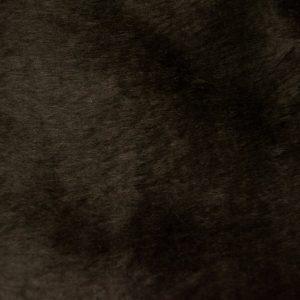 Preiswert Webpelz Preiswert kurzhaarige Pelzimitat in der Farbe Nut Braun- W1/60-Nut