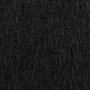 schwarz kunstpelz