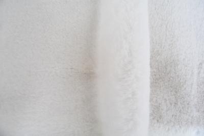Luxus Webpelz Pelzimitat Stoff superweich Weiß – 3105 S. White