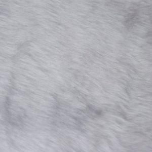 Preiswert Webpelz Preiswert kurzhaarige Pelzimitat in der Farbe weiß – W1/60-White