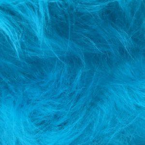 Webpelz Stoff als Meterware Preiswert frost blau langhaariges Kunstfell – AC356-Blue mood