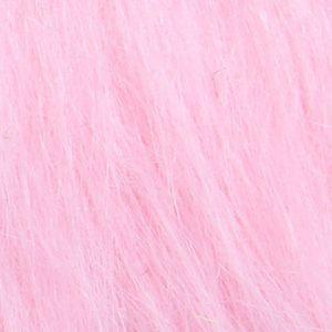 Webpelz Stoff als Meterware Preiswert rosa langhaariges Kunstfell – AC356-Blossom