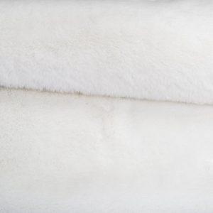 Günstig kaufen Pelzimitat Stoff superweich Super Weiß, Kaninchenfell-Imitat – Saluki 2R333 S. White