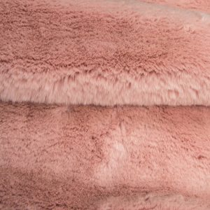 Günstig kaufen Pelzimitat Stoff superweich Rosa, Kaninchenfell-Imitat – Saluki 2R333 Soft Pink