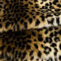 Preiswert Webpelz Leopard Kunstpelzstoff am laufenden Meter für Verkleidung, Kostüme, Cosplay – 454/1 126/1 R2/60