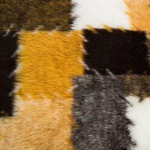Preiswert Webpelz Patchwork Kunstpelzstoff am laufenden Meter für Verkleidung, Kostüme, Cosplay – R2/60/3 546/7