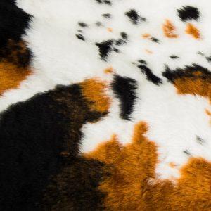 Preiswert Webpelz Kuh Kunstpelzstoff am laufenden Meter für Verkleidung, Kostüme, Cosplay – R2/60/3 FG1115/3 919/1