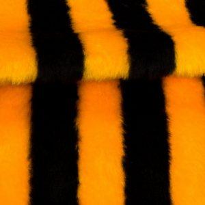 Preiswert Webpelz Biene Kunstpelzstoff am laufenden Meter für Verkleidung, Kostüme, Cosplay – R2/60/2 920/1 1201/1