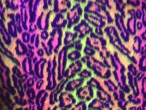 Webpelz Stoff als Meterware Jaguar Kunstpelzstoff am laufenden Meter für Verkleidung, Kostüme, Cosplay – 81 / 3 R2/60