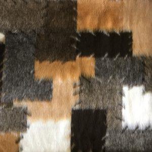 Webpelz Stoff als Meterware Patchwork Kunstpelzstoff am laufenden Meter für Verkleidung, Kostüme, Cosplay – R2/60/3 546/7
