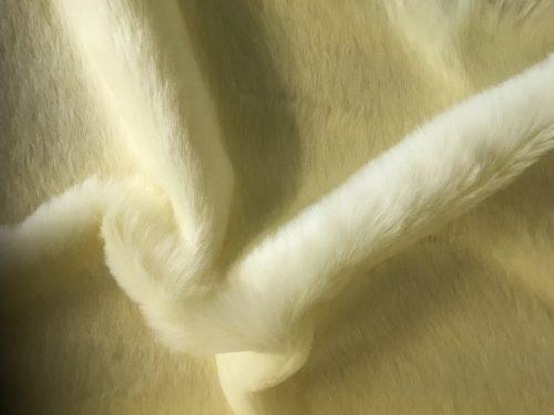 Preiswert Webpelz Kunstpelzstoff magnolie weiß super Preis-Leistungs-Verhältnis – YF 286/1 Magnolia