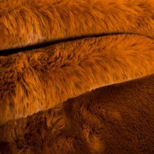 Luxus Webpelz Pelzimitat Stoff superweich bronze – 3105 Bronze