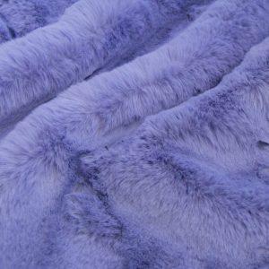 Luxus Webpelz Super weicher Kunstpelzstoff imitiert Kaninchen, lavendelblau – 3091 Lavender