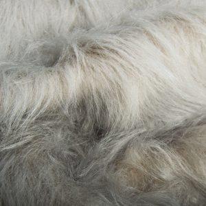 Preiswert Webpelz Preiswert Silbergrau langhaariges Kunstfell – AC356-Silver-Grey