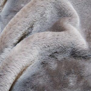 Luxus Webpelz Pelzimitat Stoff superweich grau – 2R330 Grey