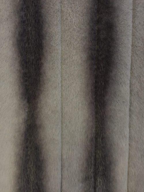 Günstig kaufen Webpelzstoff im Chinchillastil, Grau – 3097 Silver/Stone