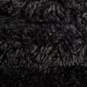 Preiswert Webpelz Preiswert gelocktes Pelzimitat in der Farbe schwarz – AC444 Black