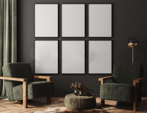 Polsterung: Stühle und Sessel mit Kunstpelz bezogen
